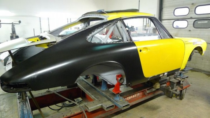 Porsche 911 Rally Car Rebuild Jig Chassis Straightening