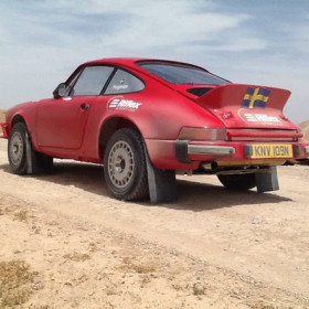 Tuthill Porsche rally car build