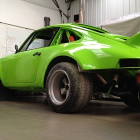 Tuthill Porsche 911 hot rod lime green RSR