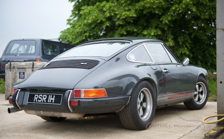 Tuthill Porsche 911 custom bespoke build