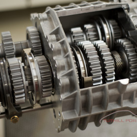 Tuthill Porsche 997 dog box GT3 Cup transmission gearbox rebuild