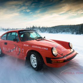 Tuthill Porsche CarFest Below Zero Ice Driving