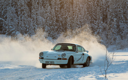 Below Zero Ice Driving Top Gear Porsche 2