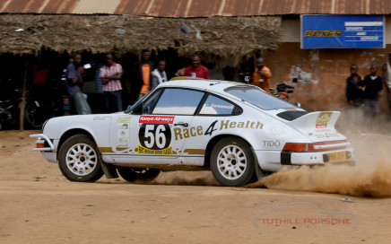 Tuthill Porsche 911 rally team tido