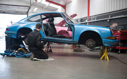 Tuthill Porsche 911 restoration bespoke build-4