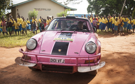 Tuthill Porsche Race4Health Safari Rally 2015