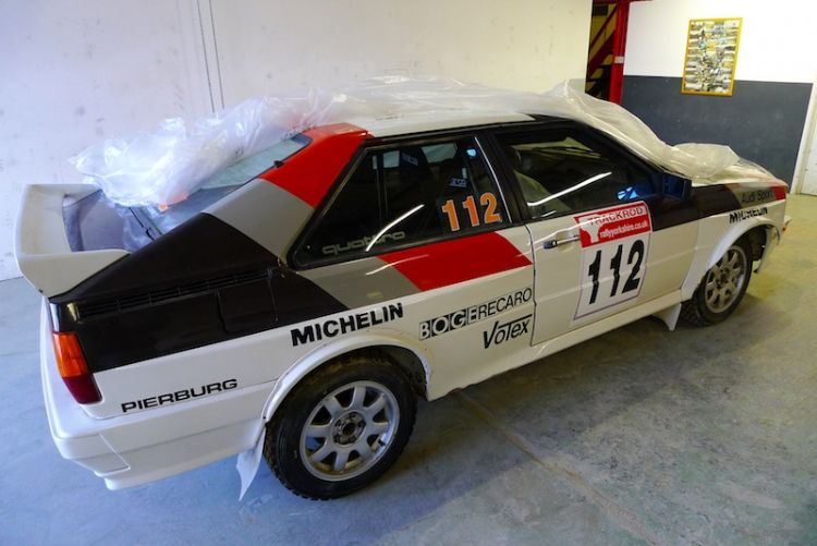 Tuthill Restores Audi Quattro Rally Car