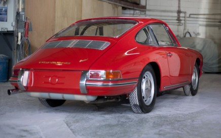 Tuthill Red Porsche 911 SWB restoration 1