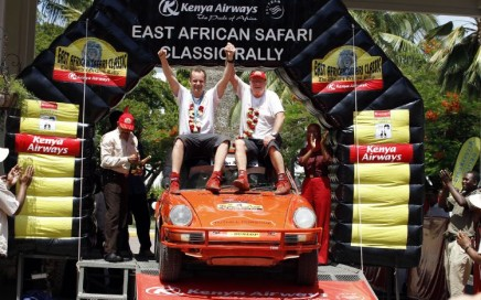 Waldegard Safari Rally Win