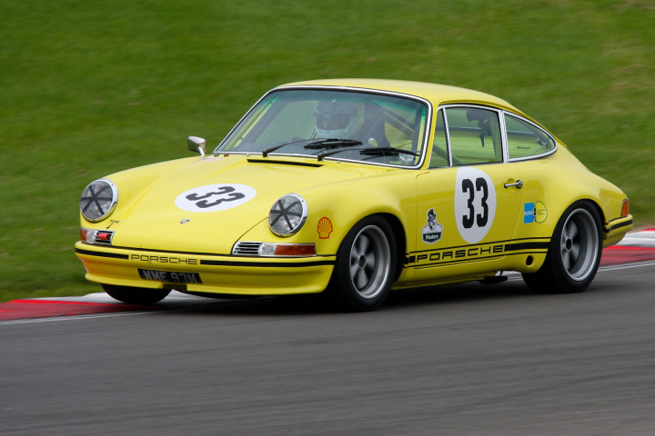Porsche 911 ST race car tuthill