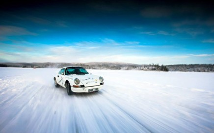 Ice Driving Tuthill Porsche