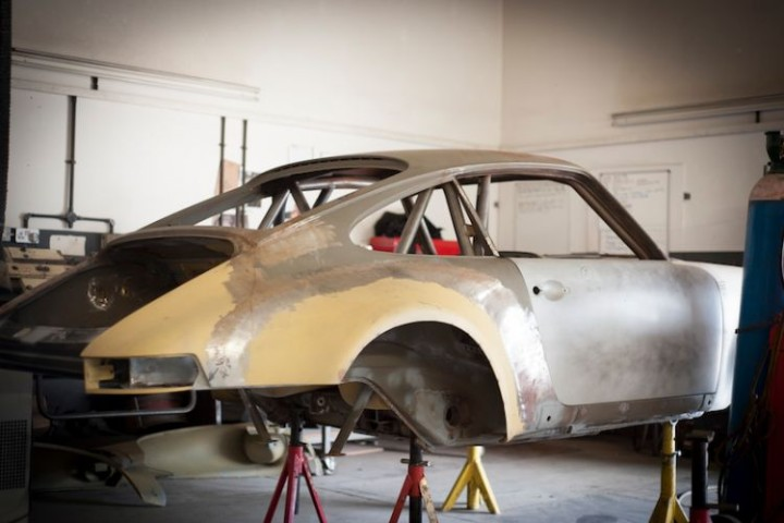 Tuthill Porsche build new classic 911