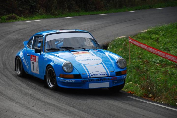 Winning 1972 Porsche 911 Rally Car For Sale