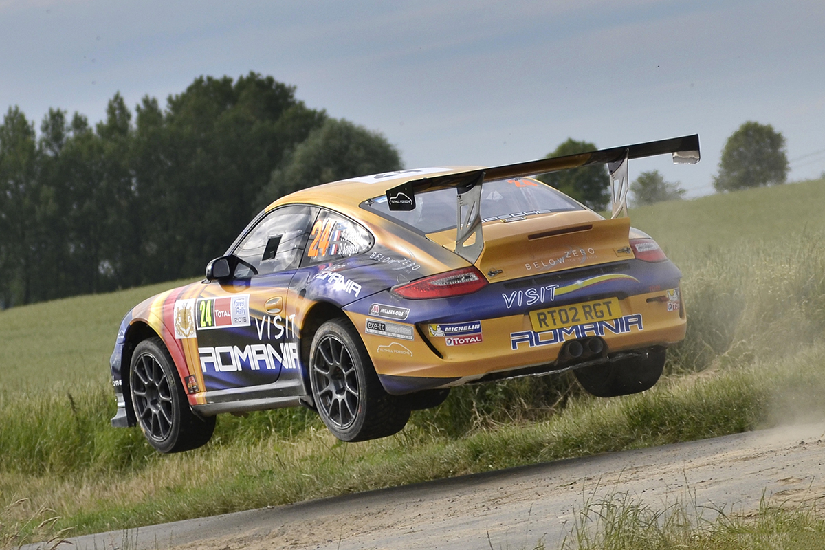 Tuthill Porsche 997 R-GT rally car for sale