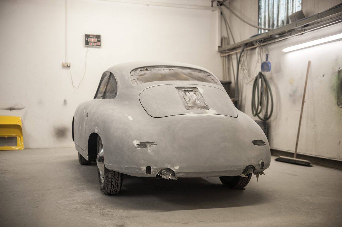 Tuthill Porsche 356 Restoration In Paint