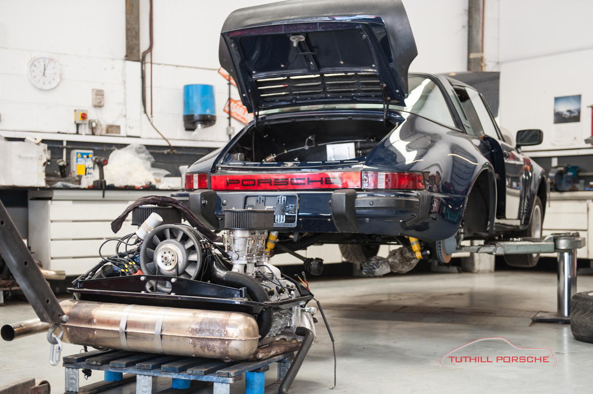 Tuthill Porsche Engine Transplant on Basic Car Engine Parts