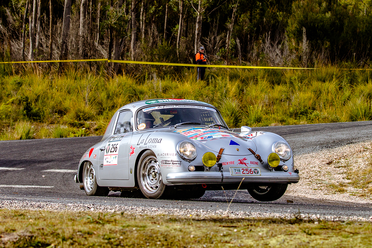 Porsche 356 Completes Second Event Of World Rally Tour
