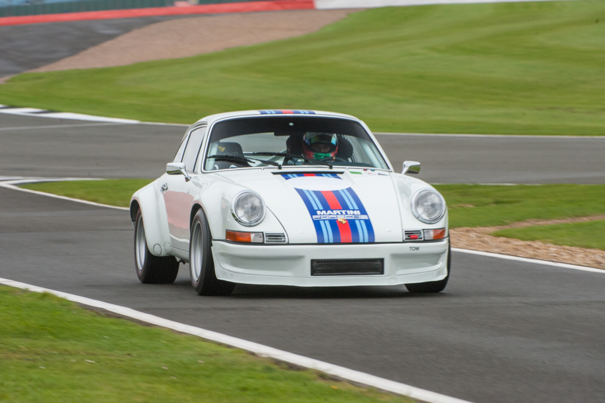 Click to view more photos of a Tuthill Porsche 911 RSR 3.0 historic race car